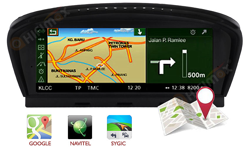 bmw 3/5 series E60 E90 android navigation gps system