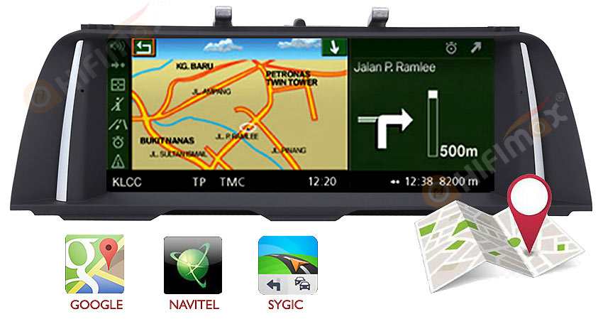 bmw 5 f10 f11 android navigation