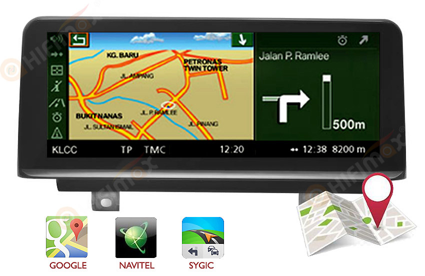 android bmw f20 f21 f23 navigation GPS