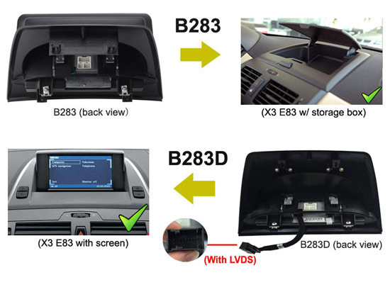 aftermarket bmw x3 e83 gps navigation